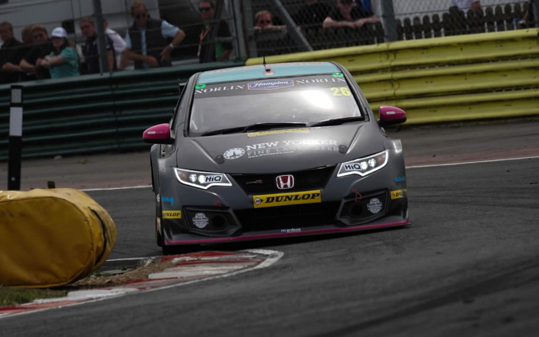 Lloyd set for double distance BTCC challenge at Snetterton