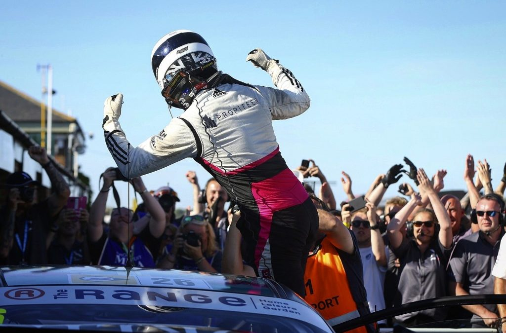 Lloyd takes maiden BTCC win on home soil