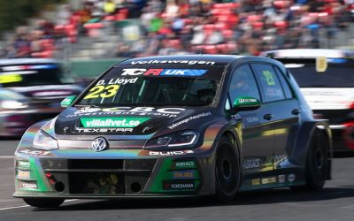 Mixed fortunes for Lloyd on home ground in penultimate TCR UK round