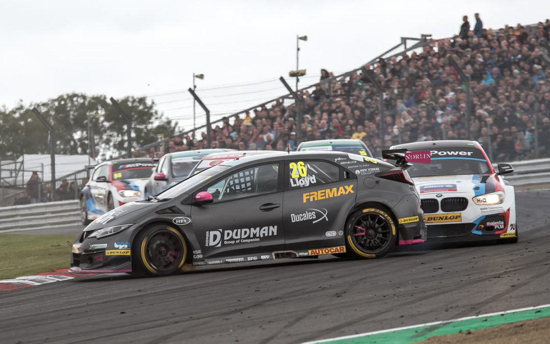 Lloyd banks the points at BTCC season finale