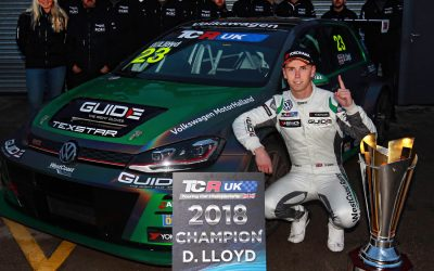 Lloyd crowned first-ever TCR UK Champion