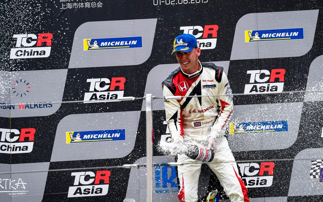 Lloyd does the double in Shanghai