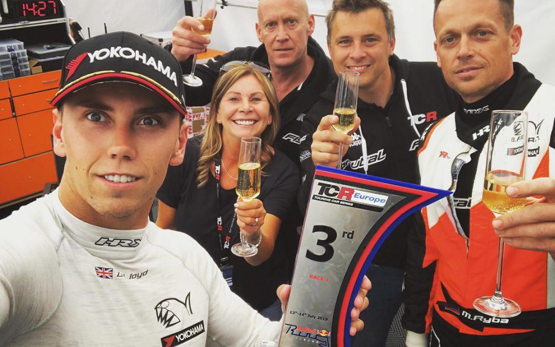 Lloyd secures maiden TCR Europe podium in Austria