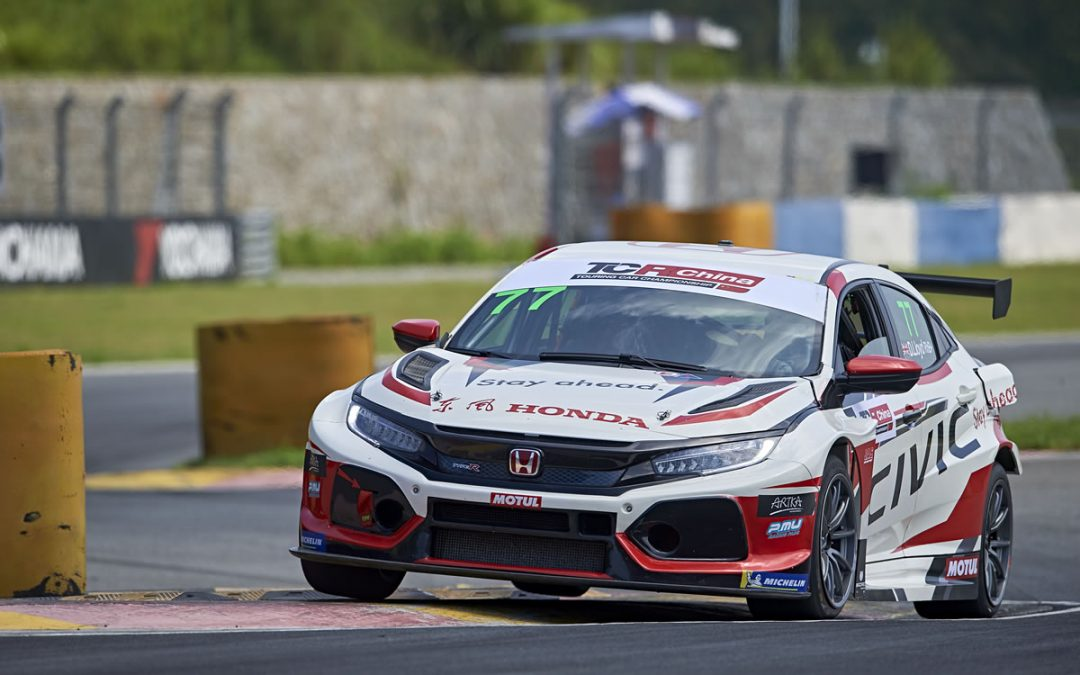 Highs and lows for Lloyd in penultimate TCR China Ningbo battle