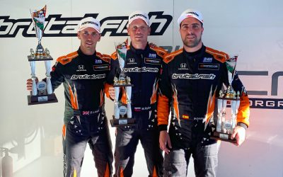 Lloyd takes Pole and podium in Monza on 12h debut