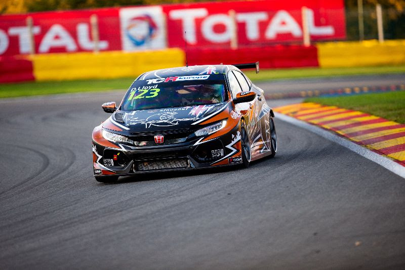 Lloyd's TCR Europe title hopes dashed after non-finish at Spa