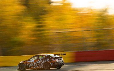 Lloyd aiming high in TCR Europe season finale