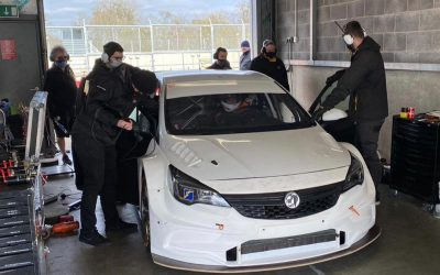 Lloyd takes to the track for BTCC pre-season testing